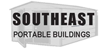 Logo, Southeast Portable Buildings - Enclosed Garages